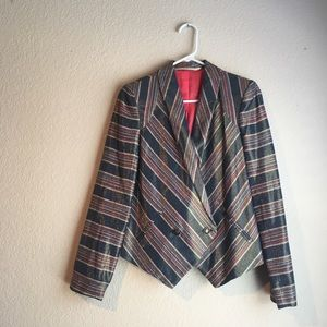 Twelfth Street By Cynthia Vincent metallic blazer
